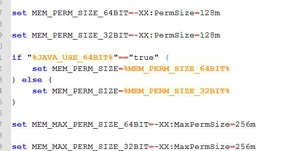 weblogic JDK内存设置