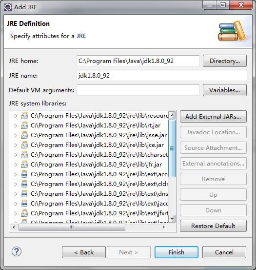 添加JDK配置